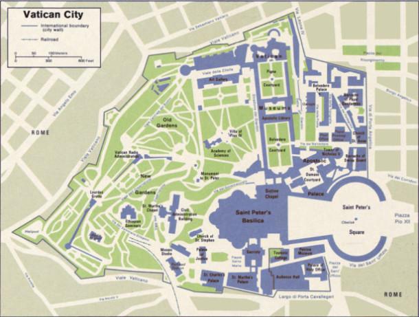 Vatican-maps