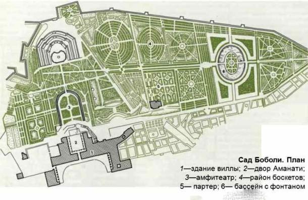 Карта сада
