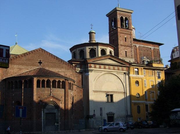 Церквь Санта Мария прессо Сан Сатиро