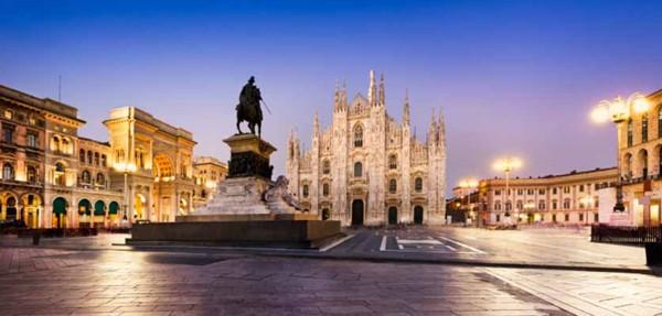 Свадебное путешествие в Милан