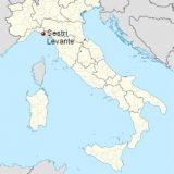 Леванто на карте Италии