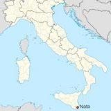 Ното на карте Италии
