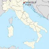 Новента-ди-Пьяве на карте Италии