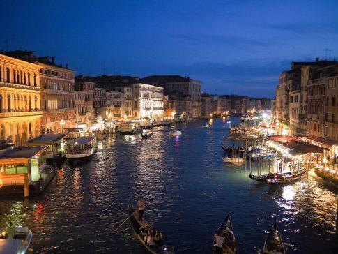 первое путешествие в Италию