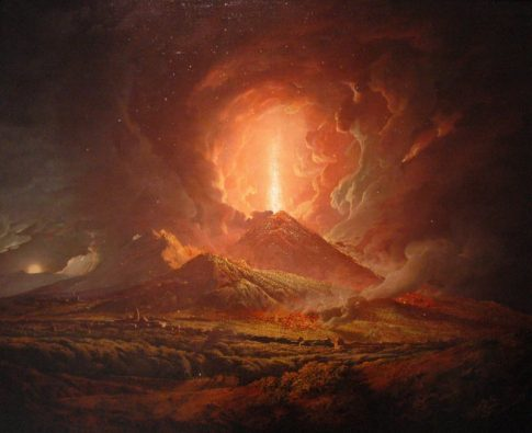 Вулкан Везувии
