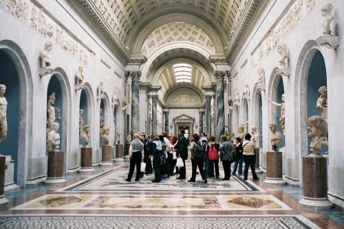 Музейный комплекс в Ватикане